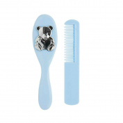 Baby Hair Brush & Comb Blue by Mayoral
