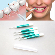 5 Medium Inter Dental brushes for dental care, Orthodontic Wire Brush Toothbrush Oral Care Toothpick