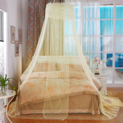 WANGXQ Mosquito Protection Mosquito Net Dome Hanging Bed Mantle Single Door Open Polyester , jade , B