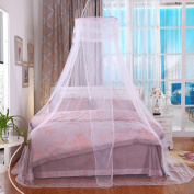 WANGXQ Mosquito Protection Mosquito Net Dome Hanging Bed Mantle Single Door Open Polyester , blue , B