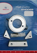 Anode kit for Volvo engines 290 aluminium