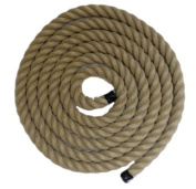 RopeServices UK 10Mts X 24Mm Decking Rope,Poly Hemp,Hempex.Boat,Stair