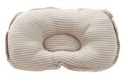 Flyingsky Coloured Cotton Organic Newborn Baby Oval Cover Pillow Positioner