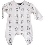 Vine Baby Sleeping Bag Sleepsacks with Feet and Removable Sleeves 6 Layers Gauze Sleepwear