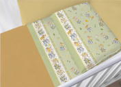 100% Cotton Bedding Set for Cot Bed in Set Model 6482 Lettino 6482 Verde