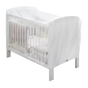 THERMOBABY Moustiquaire Lit 60 X 120 et 70 X 140 Transparent