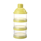 Colourful Baby Milk Powder Box Dispenser Non-Spill Separate Milk Powder Box Snack Storage Container