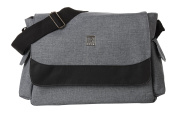 Ryco Vogue Messenger Nappy Bag, Grey