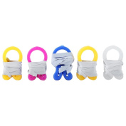 ReFaxi®5 Sets Soft Silicone Earplugs + Nose Clips for Summer Sports Swimming Training Safety Tool