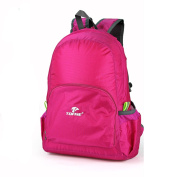 TOFINE Touring External Backpacking Backpack Water Resistant Hot Pink 25 Litre