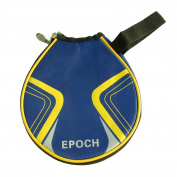 Round Table Tennis Racket Bag Cheap Ping Pong Paddle Cover Blue