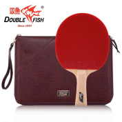 Double Fish Carbon Fibre 9 Star Business Table Tennis Racket, Ping Pong Paddle