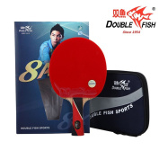 Double Fish Aryl Carbon 8 Star Table Tennis Racket, Ping Pong Paddle