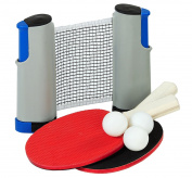 Outside Inside Backpack Table Tennis Set