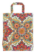 Ulster Weavers 31cm x 37cm x 13cm Moroccan Tiles PVC Bag, Medium