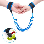 Anti-lost Wrist,Top-spring Anti Lost Safety Wrist Walking Hand Belt Safe Strap Bungee Leash Safety Harness Elastic Wire Rope for Kids Children Baby Toddler,Travelling Shopping Exploring Helper