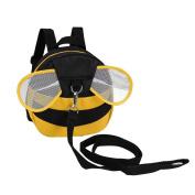 UTRO Baby Toddler Safety Harness Backpack Child Kids Strap Shoulder Backpack Bag with Reins Leash Rucksack Harness Walkers Tether Belt - Cute Bee
