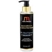Man Arden Hair Shampoo + Conditioner - No Sulphate - No Paraben - Infused Moroccan Argan, Almond Oil, Protein 200ml