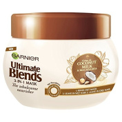 Garnier Ultimate Blends Coconut Milk Dry Hair Treatment Mask, 300 ml