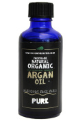 100% Pure organic fair trade sustainable cold pressed Argan oil (100ml). Supporting the UCFA
