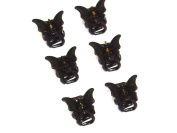 La Peach Fashions Beautiful Mini Pack Of Six Butterfly Hair Clamps Children Hair Clips Lovely Hair Accessory