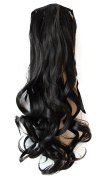 PRETTYSHOP 60cm Hair Piece Clip on Ponytail Extension Long Wavy Heat-Resisting HC14-1
