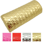 Coscelia Nail Art Pillow for Manicure Hand Arm Rest Pillow Cushion PU Leather Holder Soft Manicure Nail Tool