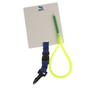 IST Scuba Diving Underwater Writing Slate With Pencil and Quick Release Clip