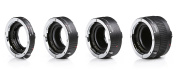 Movo MT-C93 4-Piece AF Chrome Macro Extension Tube Set for Canon EOS DSLR Camera with 12mm, 20mm, 25mm, & 36mm Tubes