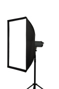 Yes Photo Group 60cm x 60cm Softbox inner Diffuser, Bowens Ring, Black/White