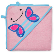 SkipHop Zoo Hooded Towel, Butterfly