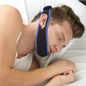 Adjustable Stop Snoring Chin Jaw Strap Snore Stopper Headband Solution Ease Breathing and Snoring