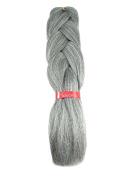 LA Trend Kanekalon Jumbo Braid #51 Steel Grey