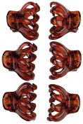 Titania Abteil Clips Octopus Hair Clips – Brown