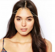 Yean Head Chain Headband with Stars Accessories for Women and Girls