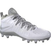 Nike Mens Huarache 4 Lax White/Metallic Silver 9.5 D - Medium