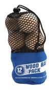A & R Sports Wood Ball
