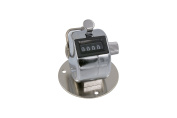 4 Digit Mechanical Tally Counter/Click Counter, Handheld with Removable Base and Finger Ring