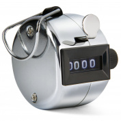 Toch Tally Counter 4 Digit Mechanical Palm Clicker Counter