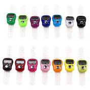 Mini Ring Digit Stitch Marker LCD Tally Counter Electronic Counter