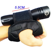 Merlin Sun Neoprene Goodman Style Glove 03 Universal Adjustable Hand and Arm Strap Waist Strap Soft Hand Mount for Scuba Dive Lights Led Flashlight