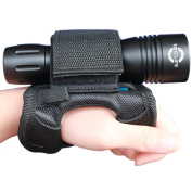 Merlin Sun Soft Goodman Glove 01 Universal Adjustable Hand and Arm Strap Waist Strap Soft Hand Mount Waist Strap Hook and loop Straps for Dive Lights Underwater Torch and Led Flashlight Lamp