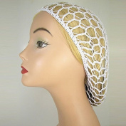 THICK HAIR NETS ELASTICATED SNOOD 1940s STYLE