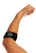 The Ultimate Tennis Elbow & Golfer's Elbow Solution - Elbow Support / Strap / Brace with Doctor Written Rehabilitation Handbook