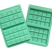 ZWANDP Trumpet waffle Silicone DIY cake mould Muffin Candy chocolate mould Cooking Kitchen Baking Tool Pack of 2
