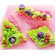 LC Flower X500 Fondant Mould Silicone Sugar Resin mould Craft Moulds DIY Cake Decoratin