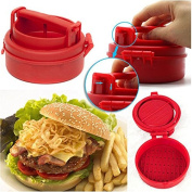 Excellent Tool for Kitchen Non Stick Burger Press by TICHI