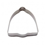 decolordulce Bell Cookie Cutter, Stainless Steel, Silver, 13 x 10 x 3 cm