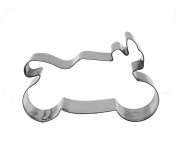 decolordulce Moto Biscuit Cutter, Stainless Steel, Silver, 13 x 10 x 3 cm