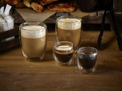 Genware DWG350 Coffee Glass, Doubled Walled, 35 cL360ml